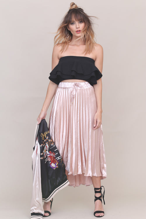 Kiss From A Rose Midi Skirt - FINAL SALE