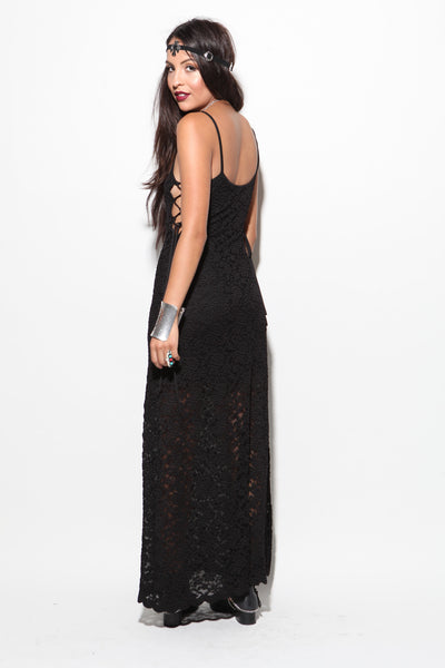 Sienna Lace Maxi Dress - FINAL SALE
