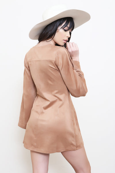 Truth Potion Bell Sleeve Dress by Minkpink - FINAL SALE