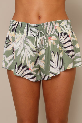 Shady Fronds Shirred Shirts by Minkpink