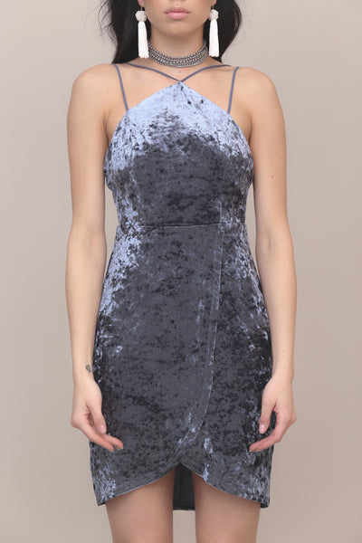 Crushing Hard Velvet Dress - FINAL SALE
