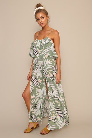 Shady Fronds Maxi Dress by Minkpink