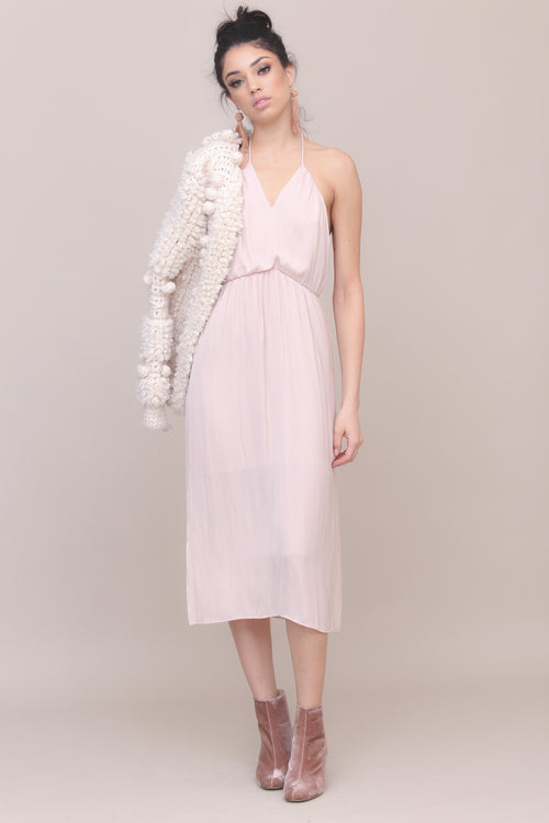 Ballet Slipper Midi Dress