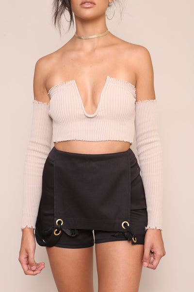 Dangerous Woman Crop Top- FINAL SALE