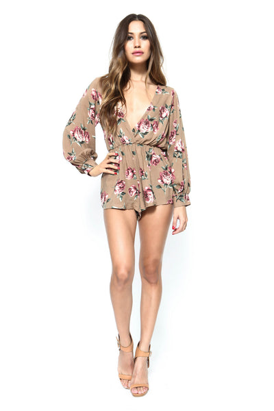 Summer Haze Romper - FINAL SALE
