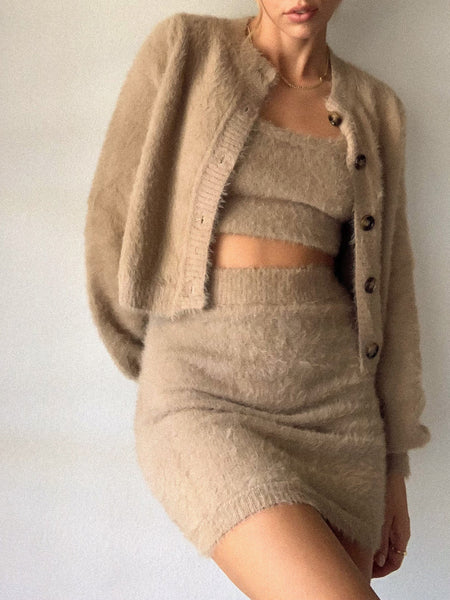 Buttercup Crop Cardigan