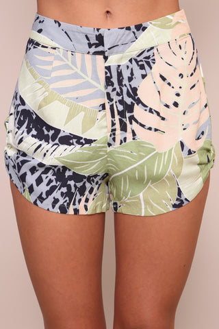 Aloha Waisted Shorts by Minkpink