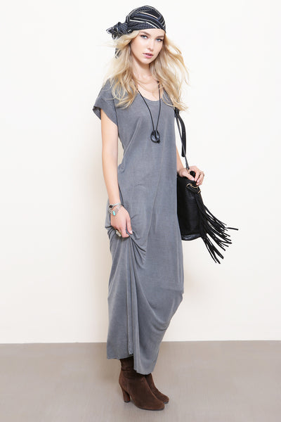 Scoop Neck Relaxed Maxi Dress by NYTT - FINAL SALE