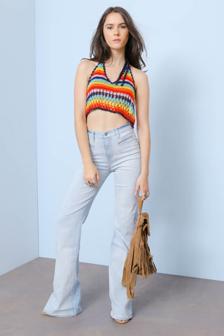 Chasing Rainbows Crop Top - FINAL SALE