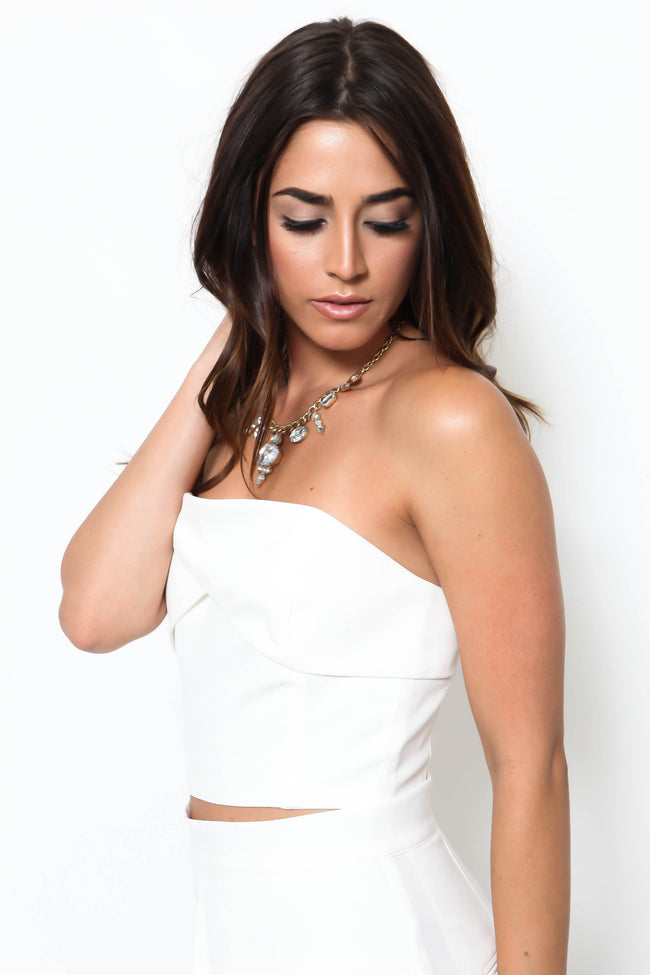 At Sea Crop Top - FINAL SALE