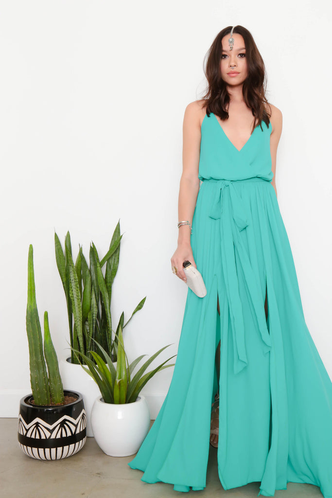 Hot Tropic Maxi Dress