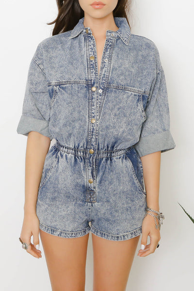 Fly Girl Romper - FINAL SALE