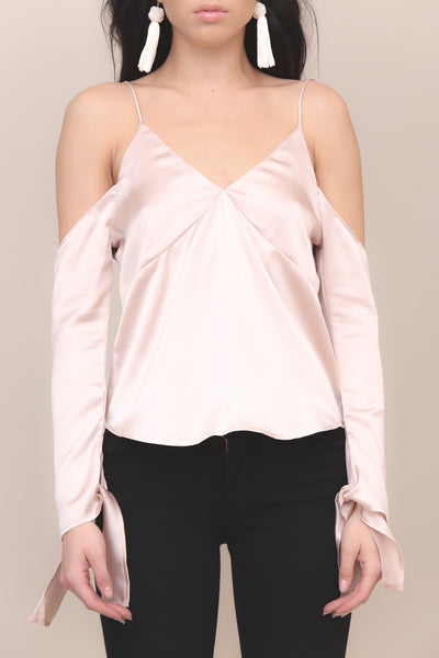 Shine By Me Satin Top - FINAL SALE