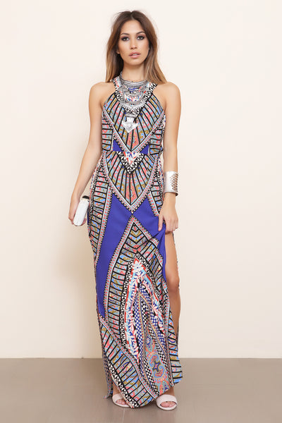 Lost In Paradise Maxi Dress - FINAL SALE