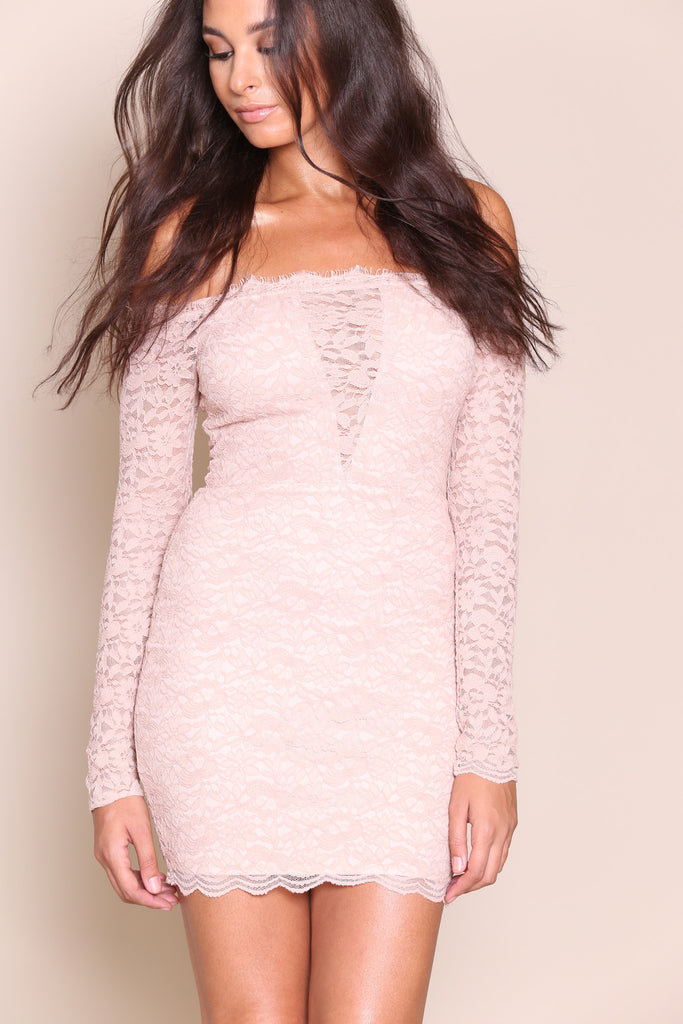 Cut To The Lace Dress - FINAL SALE