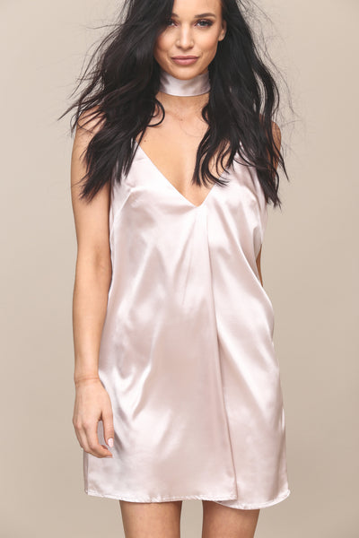 My Prerogative Satin Slip Dress - FINAL SALE