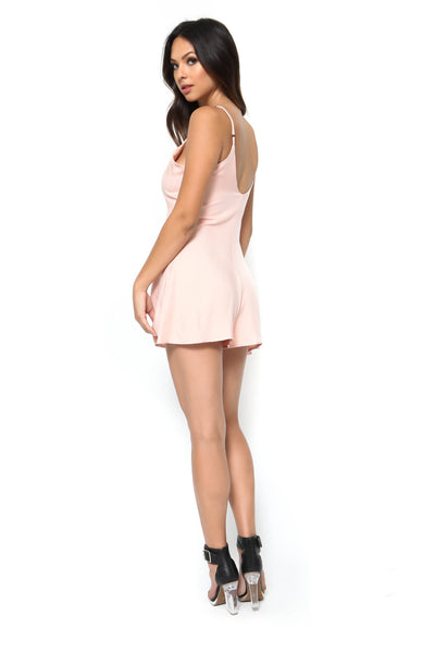 Champagne Romper - FINAL SALE