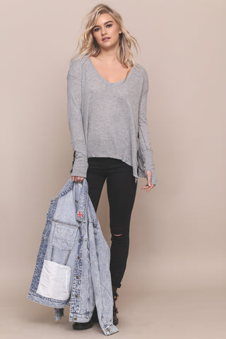 Easy Does It Thermal Top by Trunk LTD - FINAL SALE