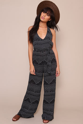 Star Gazer Cropped Jumpsuit by Minkpink
