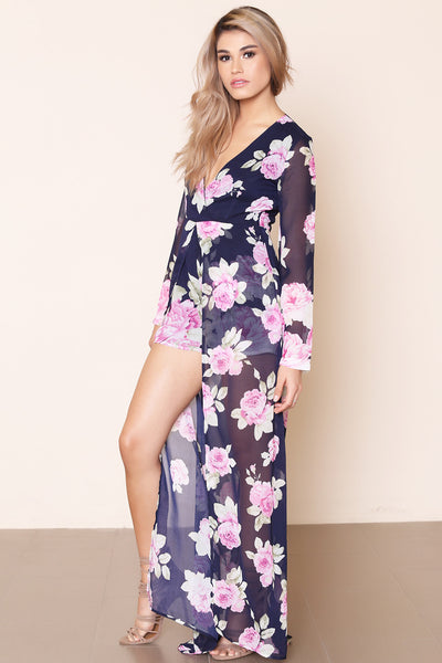 Flower Bomb Maxi Dress - FINAL SALE