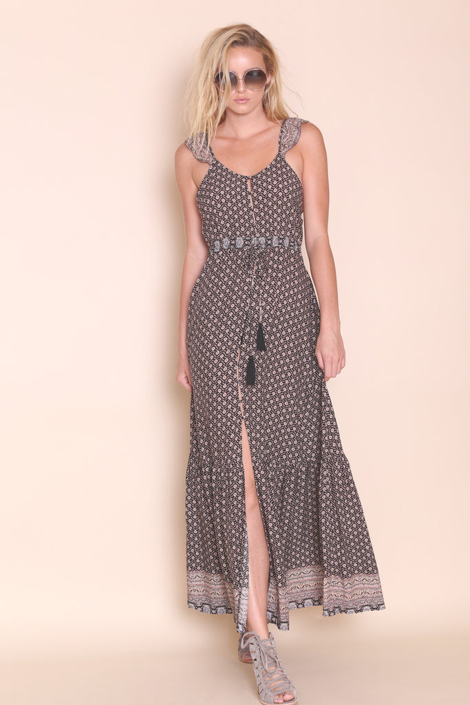 Folk Town Maxi Dress - FINAL SALE