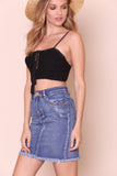 Go Shorty Crop Top - FINAL SALE