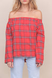 Good Girl Gone Plaid Top - FINAL SALE
