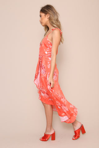 Hot Springs Wrap Dress by Minkpink