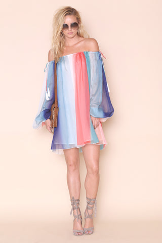 Paint The Sky Dress- FINAL SALE