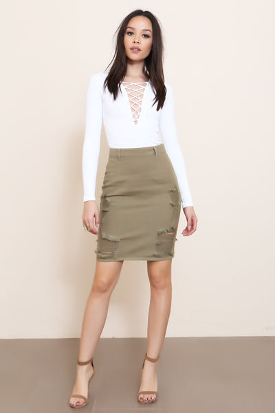Steppin' Out Skirt - FINAL SALE