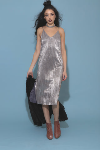 One Night Only Midi Dress- FINAL SALE