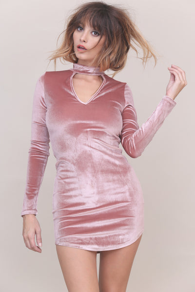Sweet Talker Velvet Dress