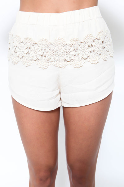 Naturally Crochet Short - FINAL SALE
