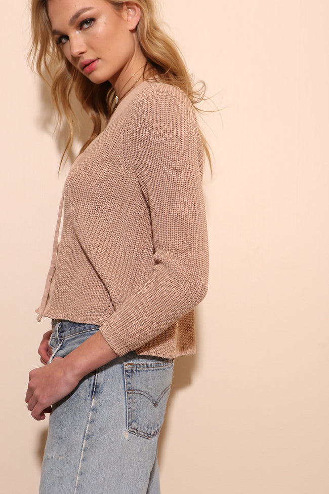 From The Top Sweater - FINAL SALE
