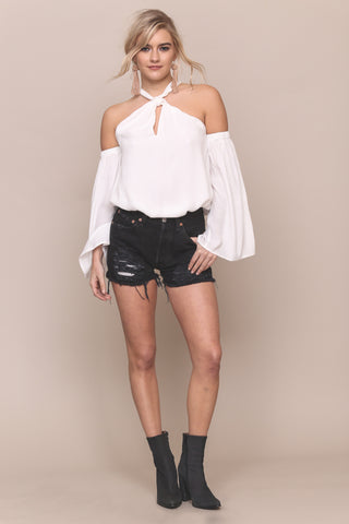 High Roller Shoulder Top by Minkpink