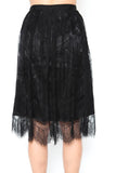 Dark Side Lace Skirt - FINAL SALE