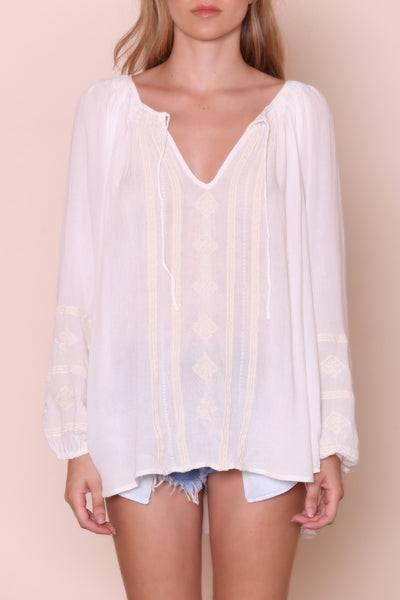 Caprice Woven Top by Amuse Society
