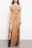 Desert Sun Suede Maxi Dress - FINAL SALE