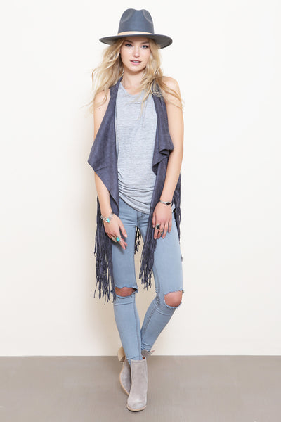 Destroyed Skinny Jean by Free People- FINAL SALE