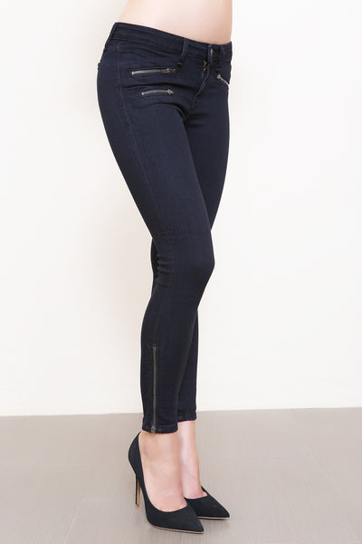 Jagged Edge Moto Skinny Jean- FINAL SALE