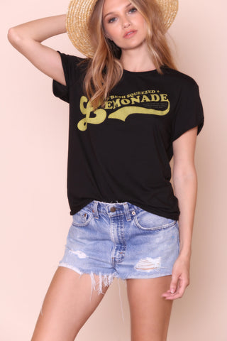Lemonade Rolling Tee by The Laundry Room - FINAL SALE