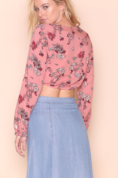 Field Of Dreams Crop Blouse by Minkpink- FINAL SALE