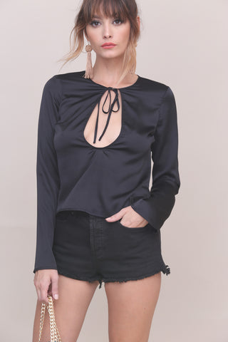 Smooth Talker Top- FINAL SALE