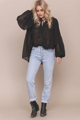 Smock It To Me Top - FINAL SALE