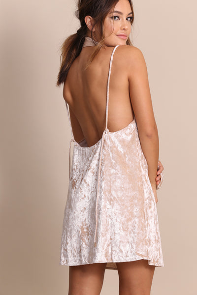 Valley Of The Dolls Velvet Slip Dress - FINAL SALE