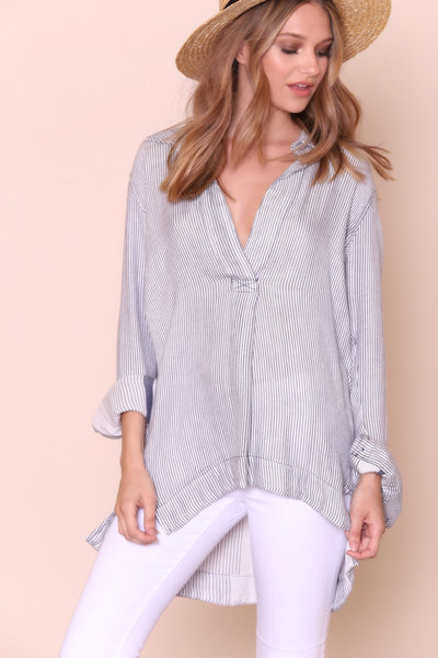 On The Road Shirt by Free People - FINAL SALE