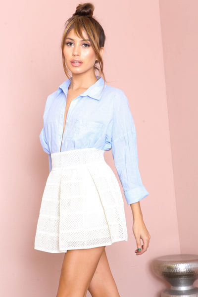 Pretty Pleats Skirt- FINAL SALE