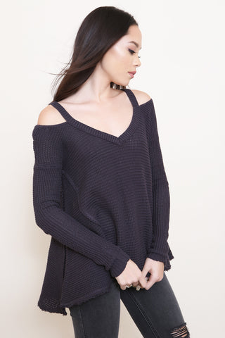 Moonshine V-Neck Sweater by Free People - FINAL SALE