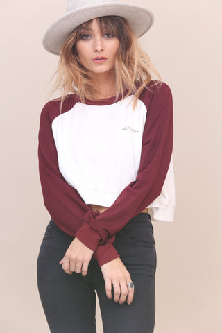 Sugar Cropped Sweater - FINAL SALE