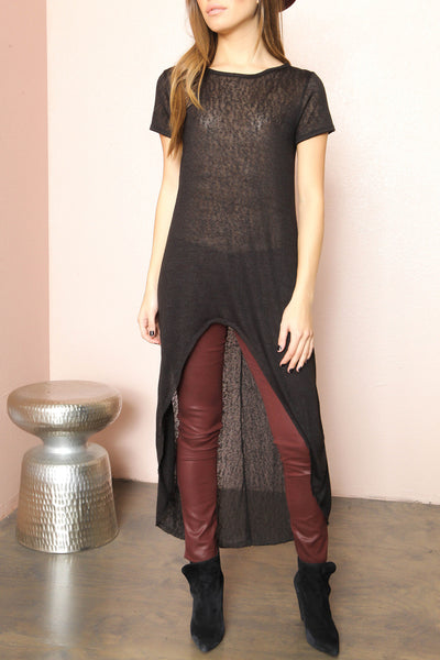 Sheer Clear Tunic - FINAL SALE